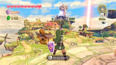 The Legend of Zelda: Skyward Sword - Screenshot - Gameplay