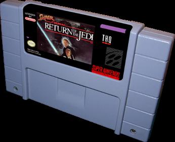 Super Star Wars: Return of the Jedi - Cart - 3D