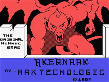 Akernaak - Screenshot - Game Title