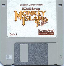 Monkey Island 2: LeChuck's Revenge - Disc