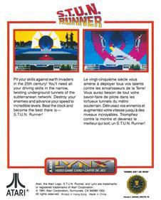 S.T.U.N. Runner - Box - Back