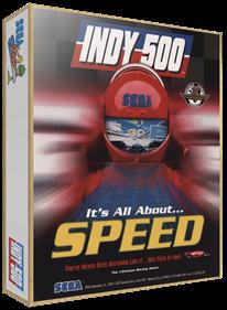 Indy 500 - Box - 3D