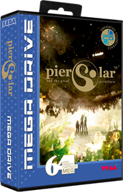 Pier Solar and the Great Architects - Box - 3D
