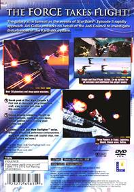 Star Wars: Jedi Starfighter - Box - Back