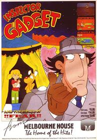 Inspector Gadget and the Circus of Fear - Advertisement Flyer - Front
