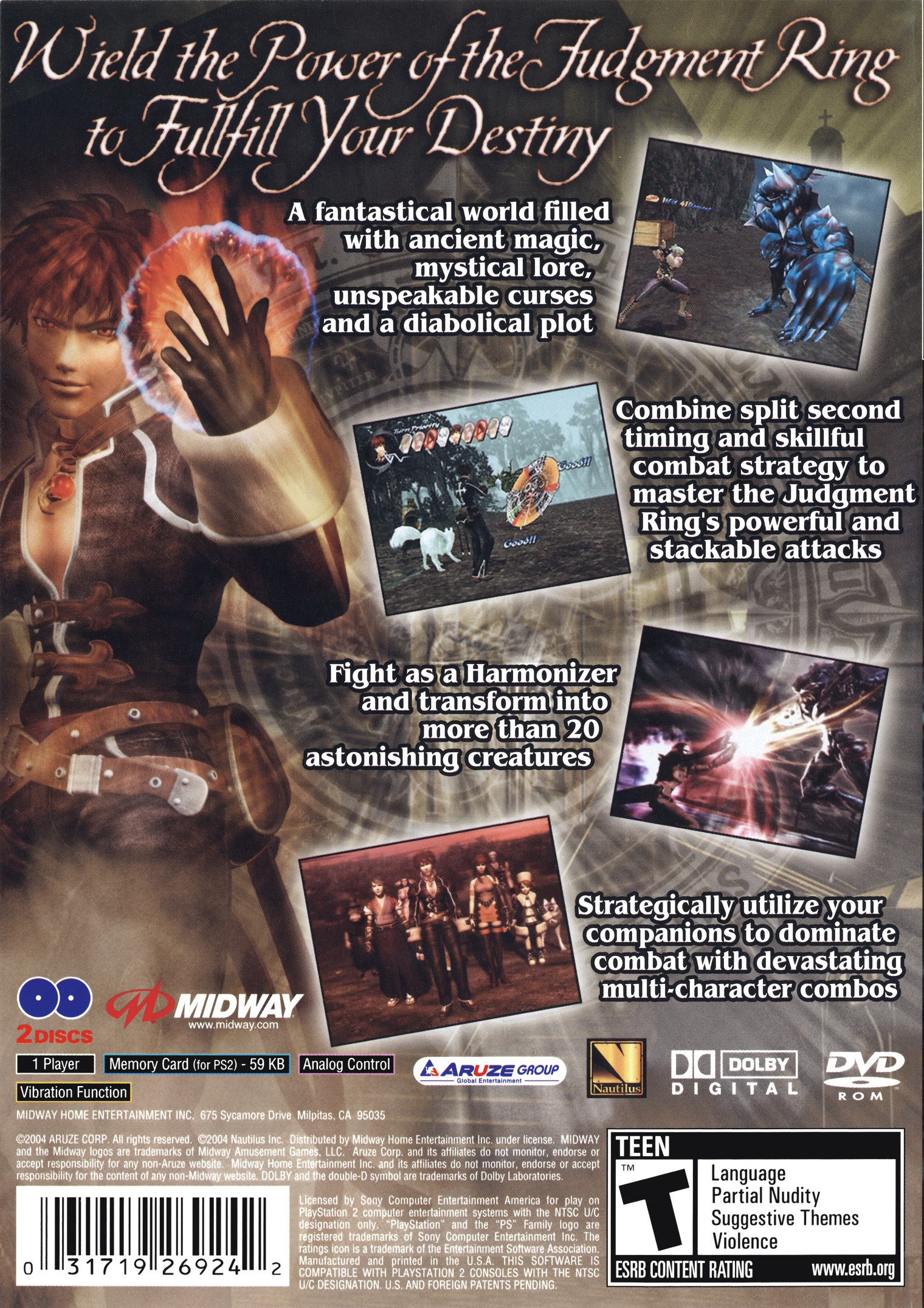 Shadow Hearts: Covenant Details - LaunchBox Games Database