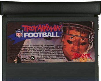 Troy Aikman NFL Football - Cart - Front