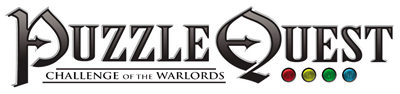 Puzzle Quest: Challenge of the Warlords - Clear Logo