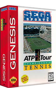 ATP Tour Championship Tennis - Box - 3D