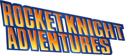 Rocket Knight Adventures - Clear Logo