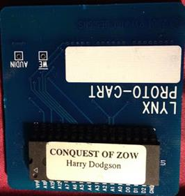 Conquest of Zow - Cart - Front