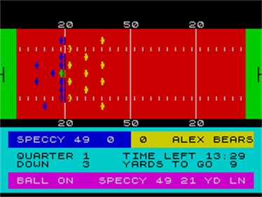 American Football - Screenshot - Gameplay