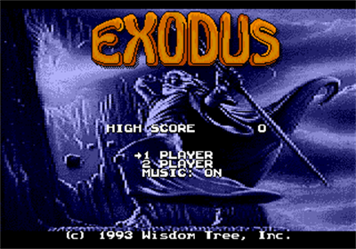 Exodus: Journey to the Promised Land - Screenshot - Game Title