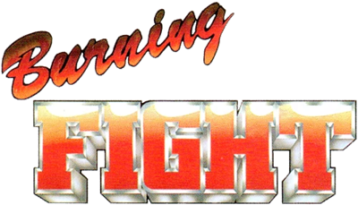 Burning Fight - Clear Logo