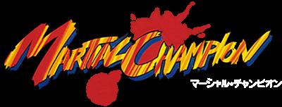 Martial Champion - Clear Logo