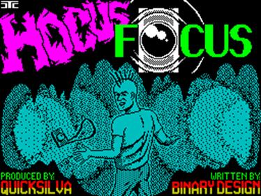 Hocus Focus - Screenshot - Game Title