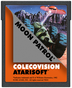 Moon Patrol - Cart - Front