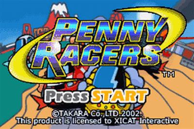 Gadget Racers - Screenshot - Game Title
