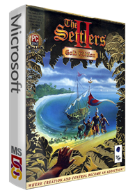 The Settlers II: Veni, Vidi, Vici (Gold Edition) - Box - 3D