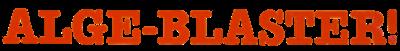 Alge-Blaster! - Clear Logo