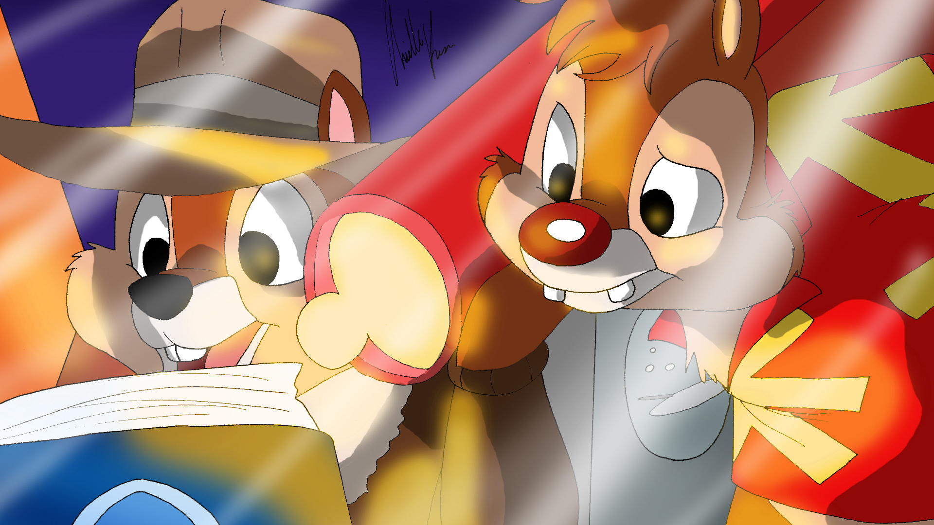 Chip 39 n dale rescue rangers details launchbox games database - Chip n dale wallpapers free download ...