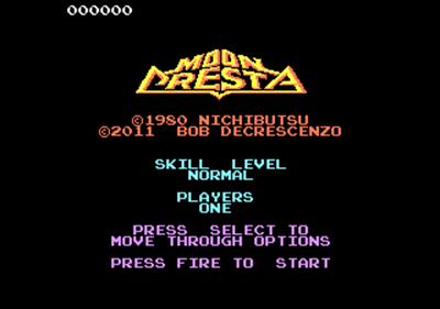 Moon Cresta - Screenshot - Game Title