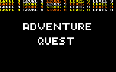 Adventure Quest - Screenshot - Game Title