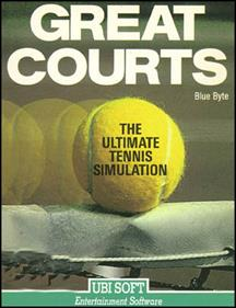 Jimmy Connors Pro Tennis Tour - Box - Front