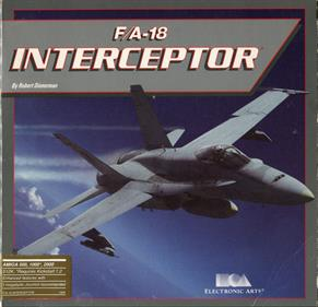 F/A-18 Interceptor - Box - Front