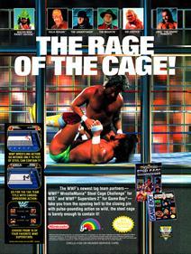 WWF Superstars 2 - Advertisement Flyer - Front