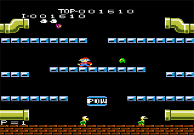 Mario Bros. - Screenshot - Gameplay