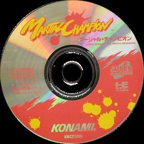 Martial Champion - Disc