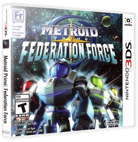 Metroid Prime: Federation Force - Box - 3D