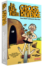 B.C.'s Quest for Tires II: Grog's Revenge - Box - 3D