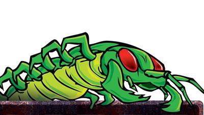 Centipede - Fanart - Background