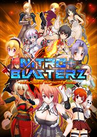 Nitroplus Blasterz: Heroines Infinite Duel - Fanart - Box - Front