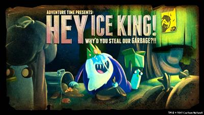 Adventure Time: Hey Ice King! Why'd You Steal Our Garbage?!! - Fanart - Background
