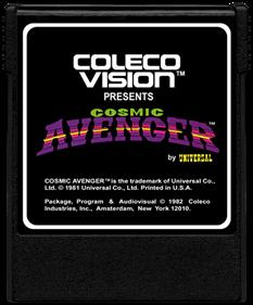 Cosmic Avenger - Cart - Front