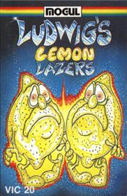 Ludwig's Lemon Lasers - Box - Front