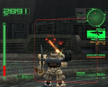 Armored Core 2: Another Age - Screenshot - Gameplay