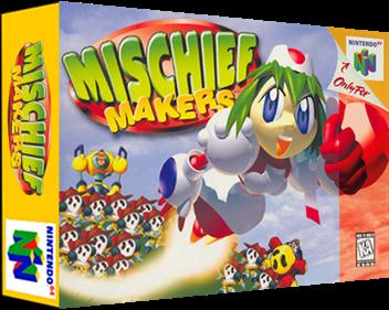 Mischief Makers - Box - 3D