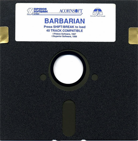 Barbarian: The Ultimate Warrior - Disc