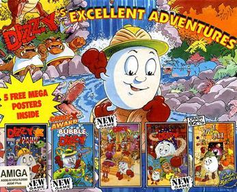 Dizzy's Excellent Adventures