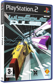 Wipeout Pulse - Box - 3D