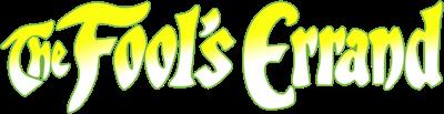 The Fool's Errand - Clear Logo