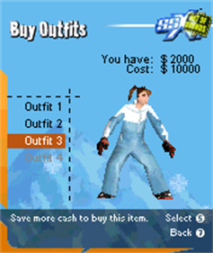 SSX: Out of Bounds - Screenshot - Gameplay