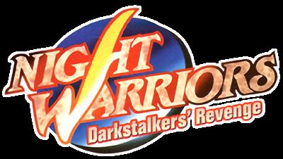 Night Warriors: Darkstalkers' Revenge - Clear Logo