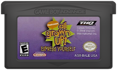 All Grown Up! Express Yourself - Cart - Front
