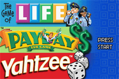 3 Game Pack!: The Game of Life + Payday + Yahtzee - Screenshot - Game Title