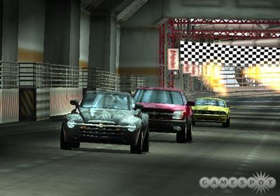Ford vs. Chevy - Screenshot - Gameplay